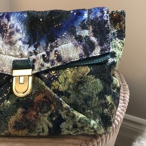 JCREW Collection Sequin Shoulder Bag